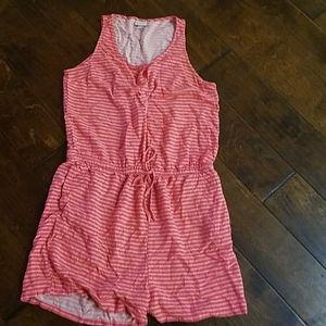 Merona pink romper medium